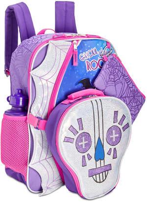LTB Accessory Innovations Little & Big Girls 5-Pc. Vampirina Graphic Backpack Set