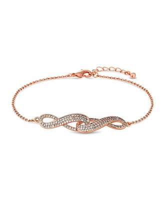 Jon Richard Rose Gold Infinity Bracelet