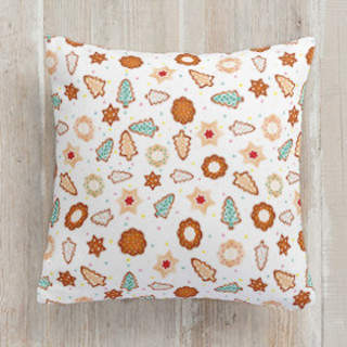 Frosted Cookies Square Pillow