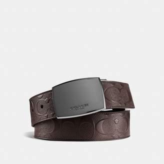 Coach Classic Plaque Cut-To-Size Reversible Belt