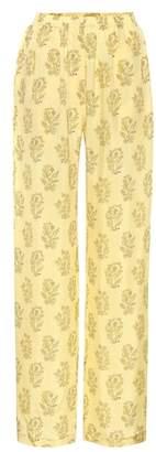 Acne Studios Pernelle printed wide-leg pants