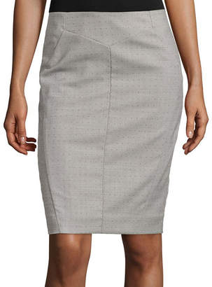 WORTHINGTON Worthington Suiting Pencil Skirt