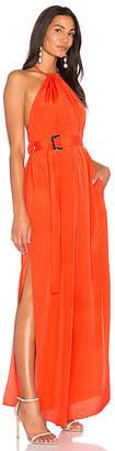 AQ/AQ Spencer Maxi Dress in Orange $189 thestylecure.com