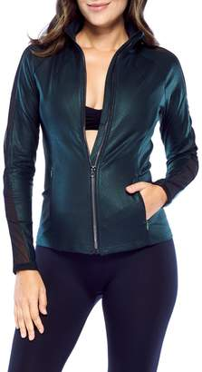 Electric Yoga Coated Jewel Tone Fitted Jacket (Maternity)