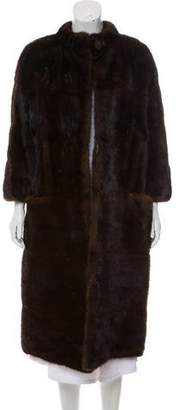 Christian Dior Mink Fur Coat