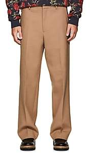 Oamc Men's Wool-Blend Straight Trousers - Beige, Tan