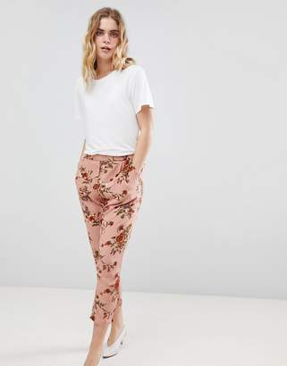 Ichi Floral Peg Pants
