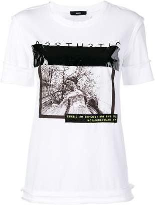 Diesel graphic print short-sleeve T-shirt
