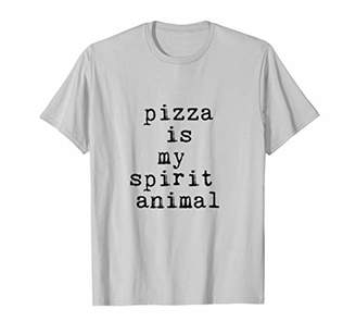 Funny Pizza is my spirit animal T-Shirt Mens & Womens Sizes