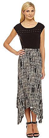Calvin Klein Handkerchief-Hem Skirt