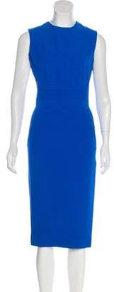 Victoria Beckham Silk & Wool Dress
