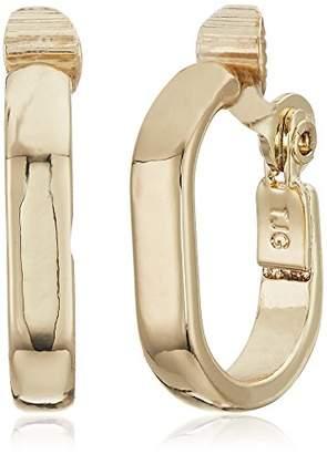 Anne Klein Tone Clip Earrings