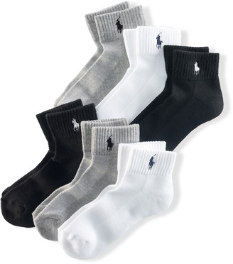 Ralph Lauren Ankle Sport Sock 6-Pack