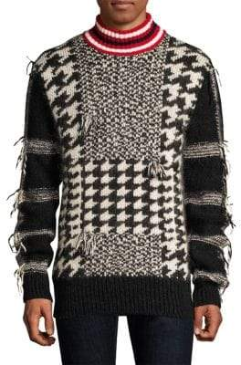 Tommy Hilfiger Edition Houndstooth Patchwork Sweater