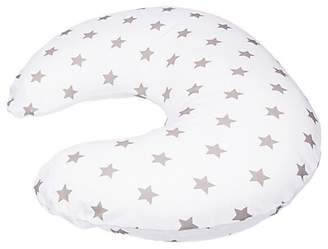 Widgey Maternity and Feeding Travel Pillow, Silver Star