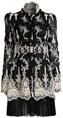 Alexis Women's Hilaria Embroidered Lace Dress