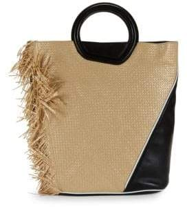 3.1 Phillip Lim Contrast Leather Tote