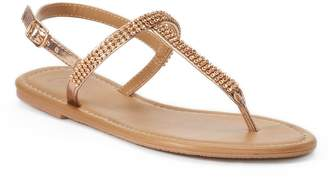 Candies Women's Candie's Bling T-Strap Sandals