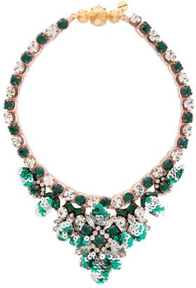 Shourouk Theresa Mini Sequin Necklace