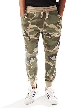 Rebel Canyon Young Men's Slim Fit Camo Jogger Sweatpant