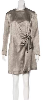 Isa Arfen Wool Gathered Dress