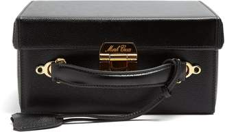 Mark Cross Grace large pebble-leather box bag