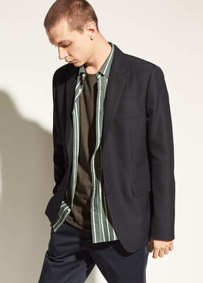Vince Relaxed Half-Lined Blazer