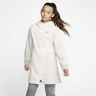 Nike Big Kids' (Girls') Fleece Parka Sportswear