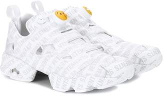 Vetements X Reebok Logo Instapump Fury sneakers