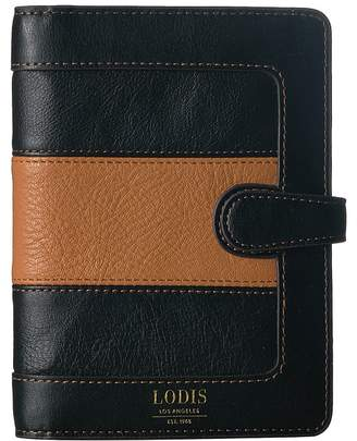 Lodis Laguna Rugby Kimmy Passport Notebook Case Wallet