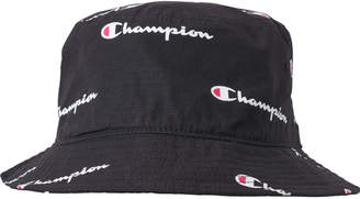 bbf66cac38445 Champion All Over Script Reverse Weave Bucket Hat