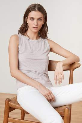 Velvet by Graham & Spencer MOLINDA LINEN KNIT TANK