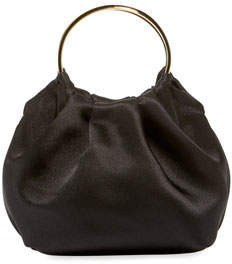 The Row Double Circle Micro Top Handle Bag