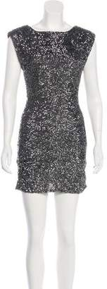 Alice + Olivia Sequined Cocktail Dress