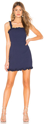 Arabella About Us Ruffle Mini Dress