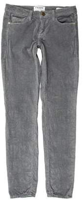 Frame Corduroy Skinny-Leg Peants