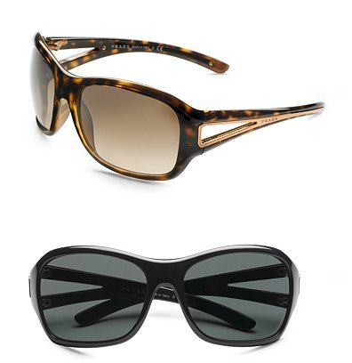 Prada Cut-Out Wrap Sunglasses