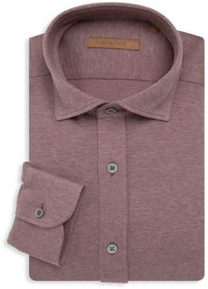 Corneliani Jersey Pique Dress Shirt