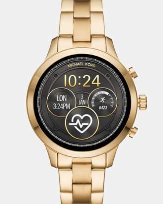 Michael Kors Scallop Gold-Tone Smartwatch