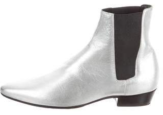 Saint Laurent Wyatt Chelsea Ankle Boots