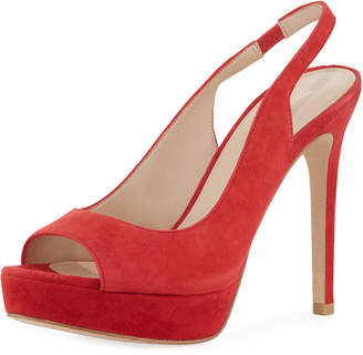 b433408f441f Pelle Moda Oana Suede Platform Sandals