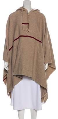A.L.C. Hooded Wool Cape
