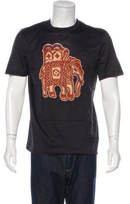Louis Vuitton Elephant Print T-Shirt