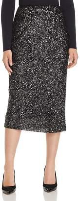Lafayette 148 New York Casey Sequin Midi Skirt
