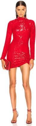 Zeynep Arcay Mini Sequin Dress
