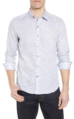 Robert Graham Tully Tailored Fit Sport Shirt