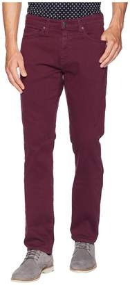 Agave Denim Rinson Twill Rocker Fit in Grape Wine Men's Casual Pants