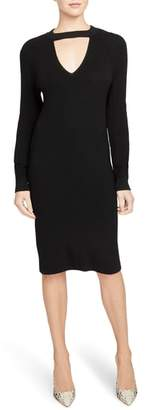 Rachel Roy COLLECTION Keyhole Detail Sweater Dress