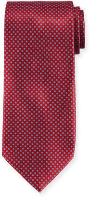 Stefano Ricci Neat Pattern Silk Tie
