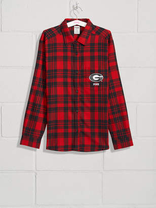 45d984223 ... PINK University of Georgia Flannel Shirt